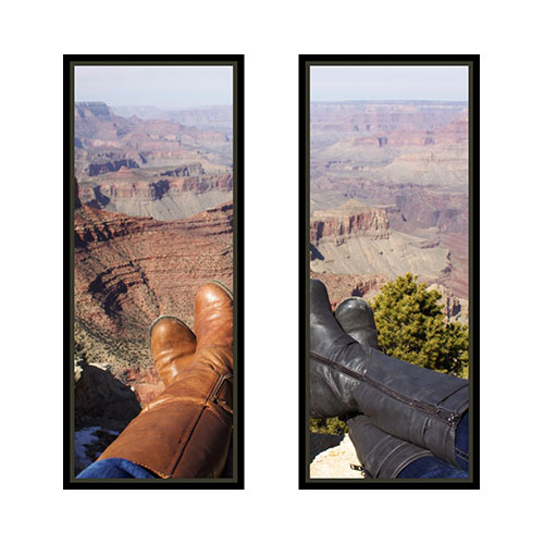 Two Panoramic 10x24 Spread Canvas Prints