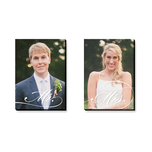 Flourishing Couple Canvas Prints