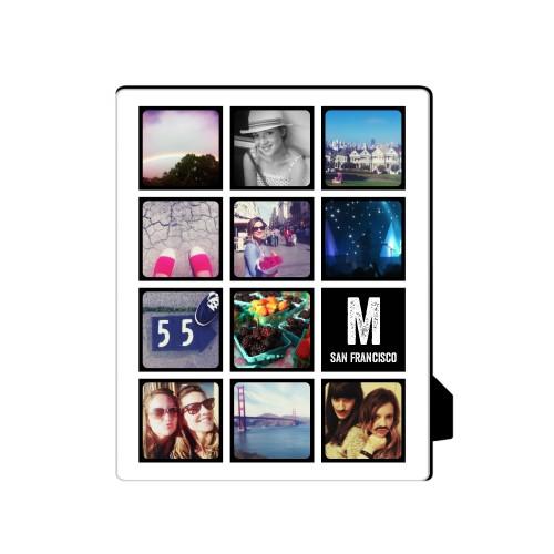 Pictogram Vertical Desktop Plaque, Rectangle, 8 x 10 inches, DynamicColor