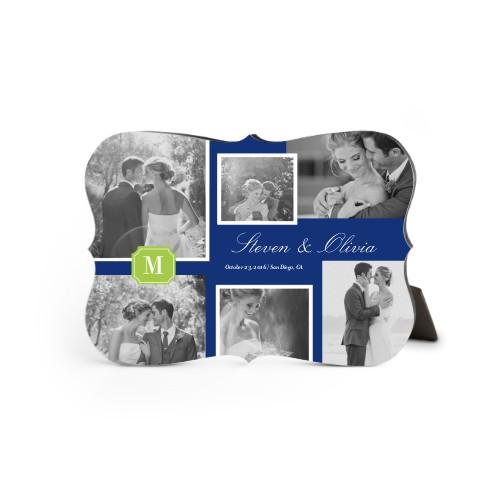 Collage Of Memories Desktop Plaque, Bracket, 5 x 7 inches, DynamicColor