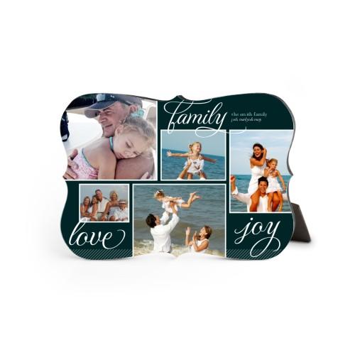 Family Sentiments Desktop Plaque, Bracket, 5 x 7 inches, Black