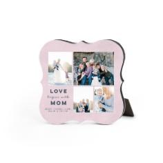 contemporary mom desktop plaque