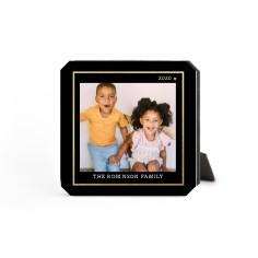 simply elegant frame desktop plaque