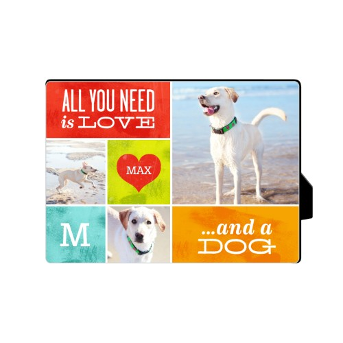 Photo Gift Dog Plaque