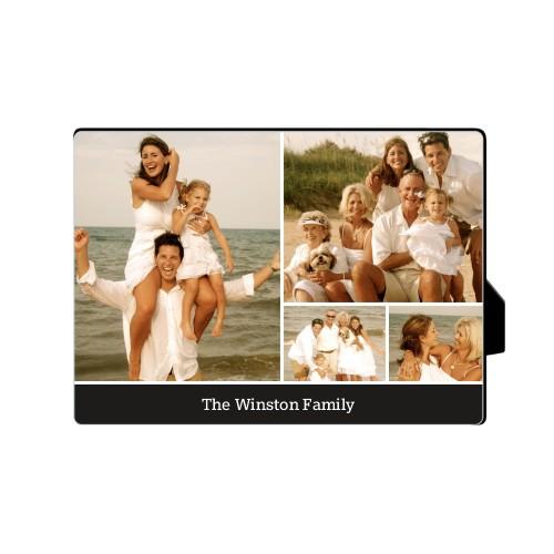Simply Family Desktop Plaque, Rectangle, 5 x 7 inches, Black
