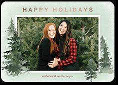 holiday pines holiday card