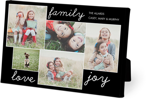 Family Sentiments Easel Back Canvas Shutterfly