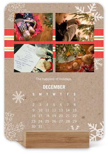 Krafted Seasons Easel Calendar