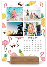 whimsical watercolor gallery easel calendar