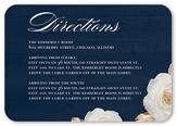 flowering fondness wedding enclosure card