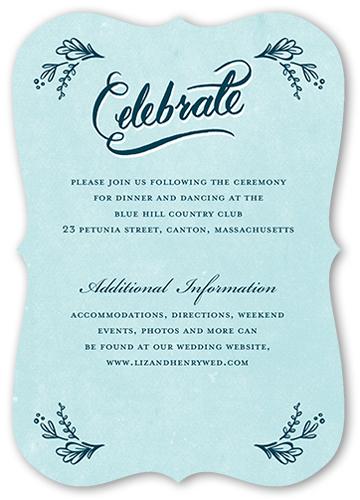 Faith Hope & Love Wedding Enclosure Card