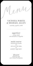 4a21d4339dde7 Wedding Menu Cards | Shutterfly
