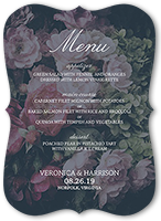 a perfect match wedding menu