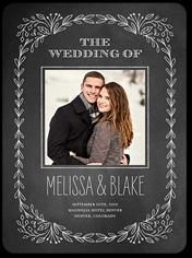 Wedding Program From 419 210 Captivated Chalk