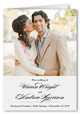 grandeur affair wedding program