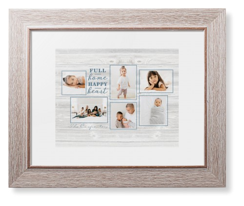 Full Home Happy Heart Framed Print