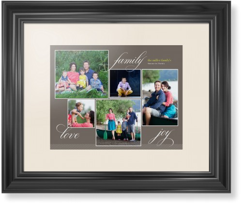 Family Sentiments Framed Print