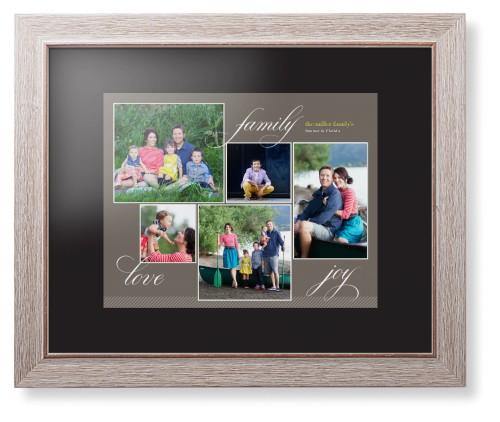 Family sentiments framed print wall art shutterfly for Modern family printer