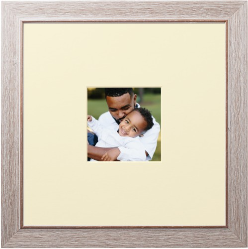 Centered Square Deluxe Mat Framed Print