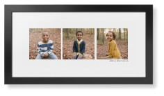 panoramic gallery of three framed print