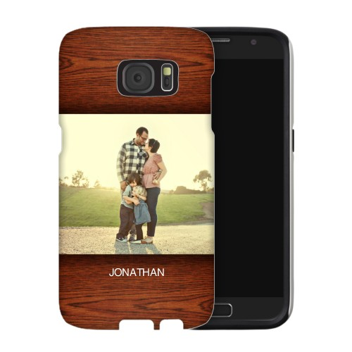 Woodgrain Samsung Galaxy Case