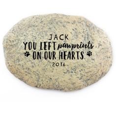 pet love garden stone