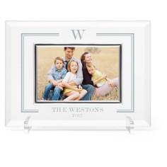 keyline monogram glass frame