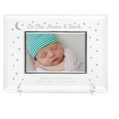 to the moon and back glass frame