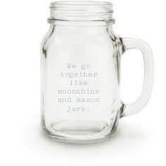 open quote mason jar