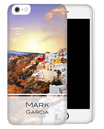 Sunset in Santorini Greece iPhone Case