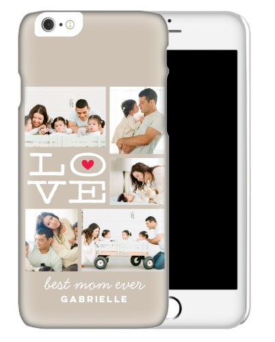 Lovely Craft iPhone Case, Slim case, Glossy, iPhone 6s, DynamicColor