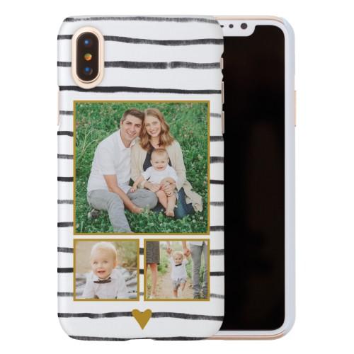 Organic Love Stripes iPhone Case