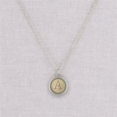 silver manuela necklace