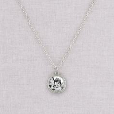 silver andrea necklace