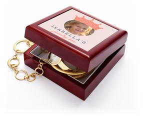 princess crown keepsake box