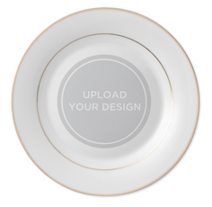 upload your own design keepsake plate