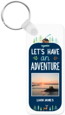 adventure see the world key ring