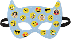 emoji faces kids mask