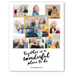 Family Photo Poster Ideas
