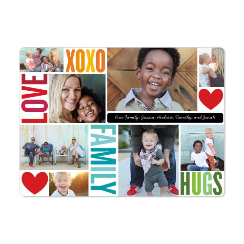 Family Love Hugs Magnet