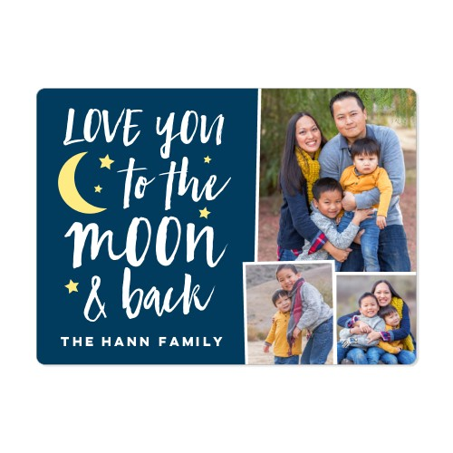 To The Moon Magnet