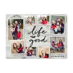 life is good collage magnet