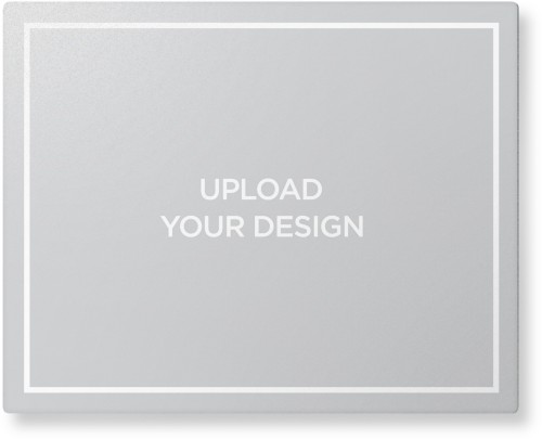 Upload Your Own Design Metal Wall Art, Single piece, 8 x 10 inches, True Color / Glossy, Multicolor