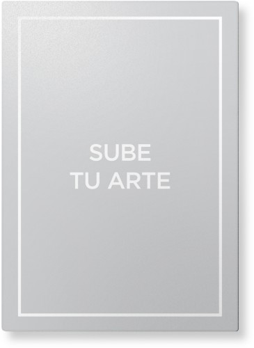 Sube Tu Arte Metal Wall Art, Single piece, 10 x 14 inches, True Color / Glossy, Multicolor