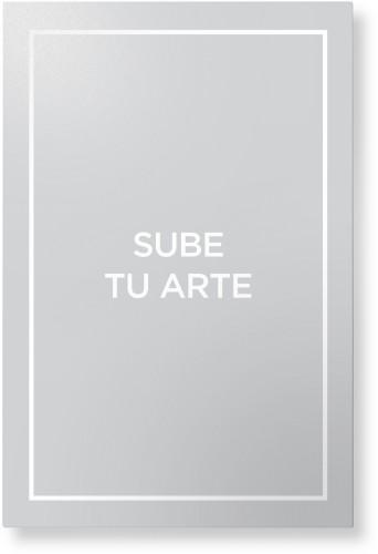 Sube Tu Arte Metal Wall Art, Single piece, 24 x 36 inches, True Color / Matte, Multicolor