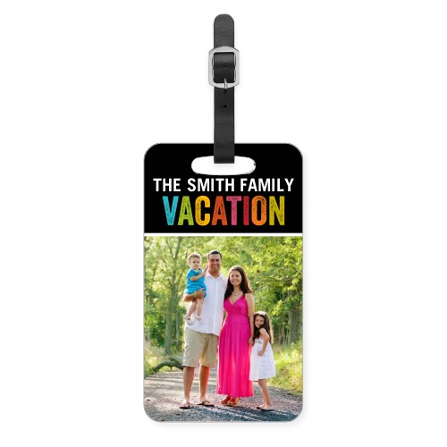 Vacation Memories Luggage Tag