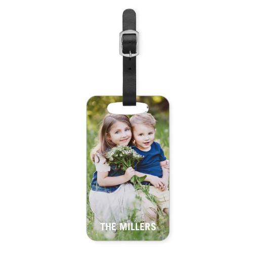 Personalized Photo Luggage Tag in 38 styles for Free