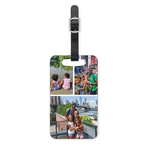 Gallery of Three Luggage Tag, Small, Multicolor