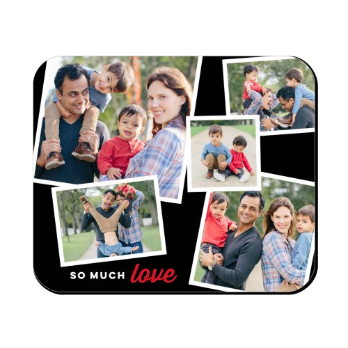 So Much Love Collage Mouse Pad