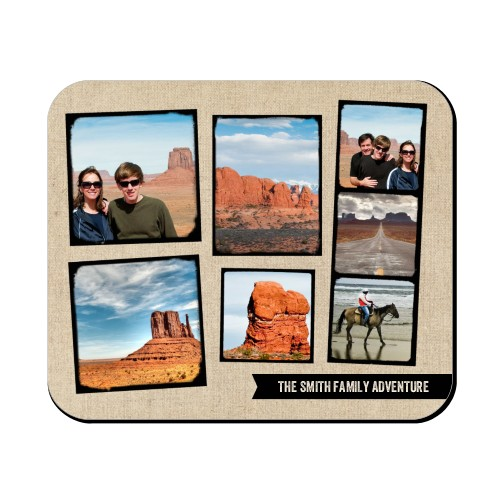 Full Of Adventure Mouse Pad